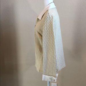 St. John Sweaters - St John Sport Iridescent Zip Up Sweater